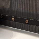 pinstripe roller blind