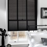 black pleated blinds northampton