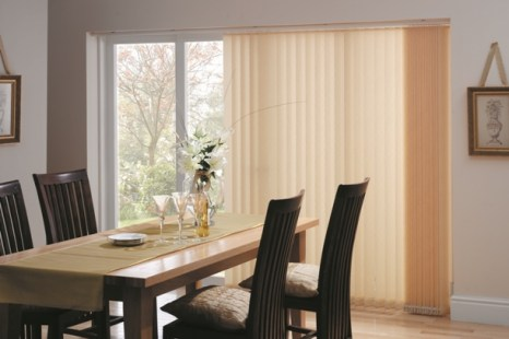 cream vertical blinds northampton