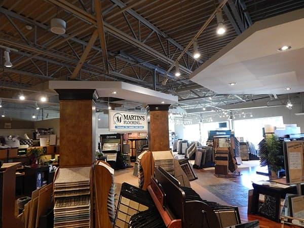 Martins Flooring Showroom In Lancaster PA Martins Flooring