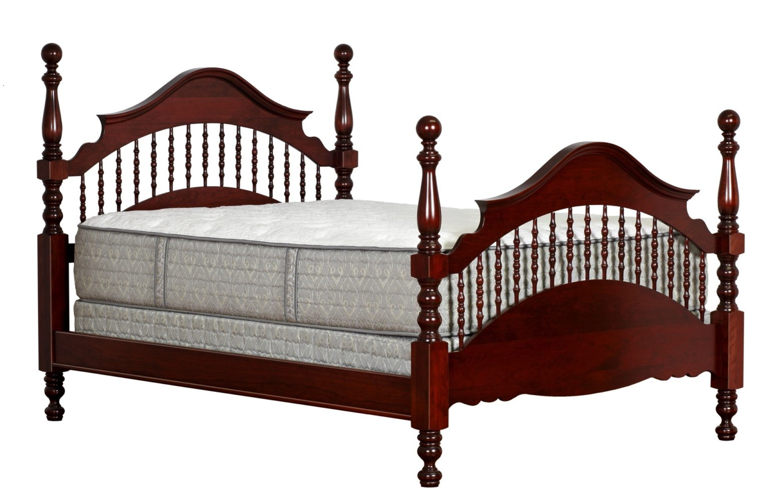 Traditional Cathedral Spindle Bed Martin S Furniture