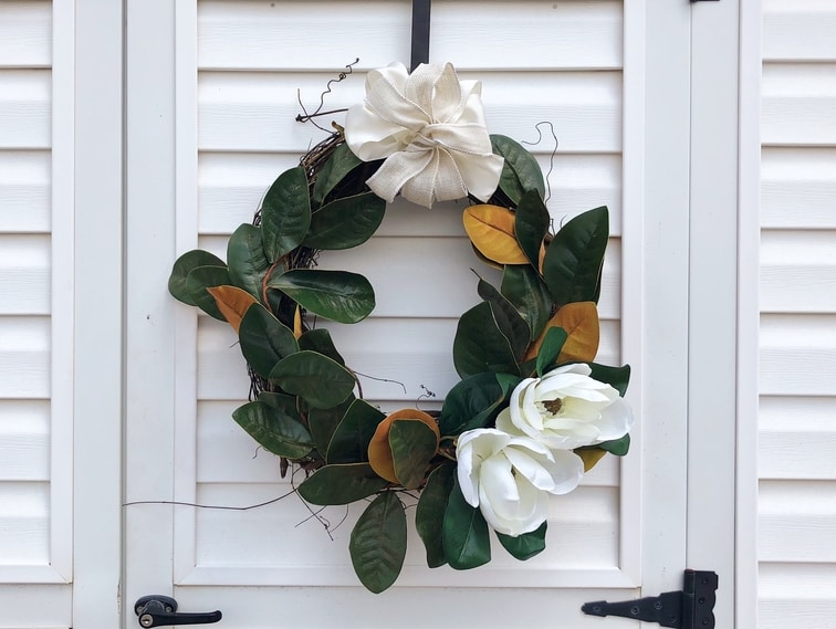Magnolia Wreath - Etsy - Custom Decor - Martin's Home & Garden - Murfreesboro TN