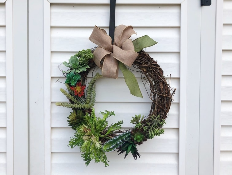 Succulent Wreath - Etsy - Custom Decor - Martin's Home & Garden - Murfreesboro TN