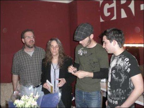 Martin Tourish with Patti Smith, Jackson