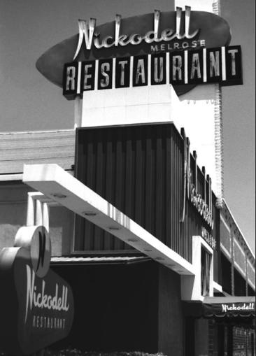 Nickodell Restaurant, Melrose Ave, Los Angeles