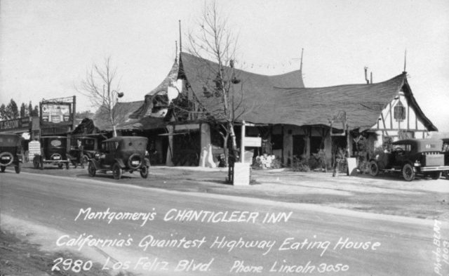the Tam-O-Shanter used to be Montgomery's 'Chanticleer Inn""