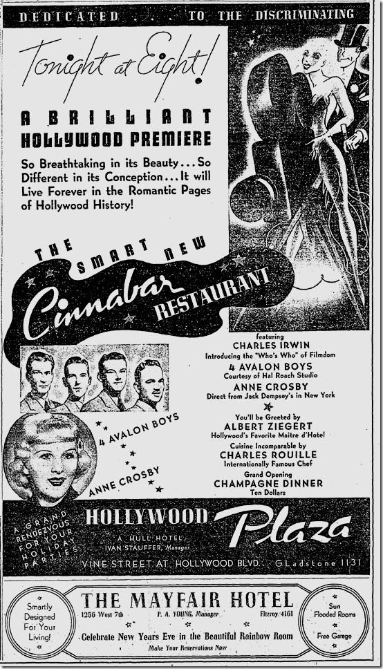 Cinnabar advertisement