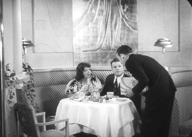 Clara Bow and her husband at the It Cafe, Vine St, Hollywood