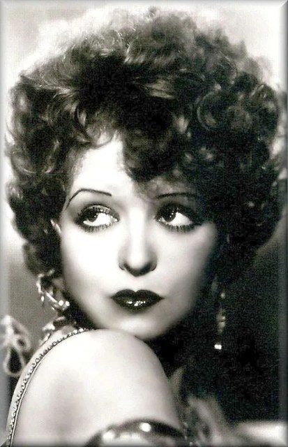 Clara Bow at the Garden of Allah hotel
