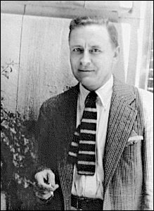 F. Scott Fitzgerald at the Garden of Allah hotel
