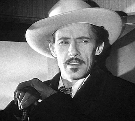 John Carradine at the Garden of Allah hotel