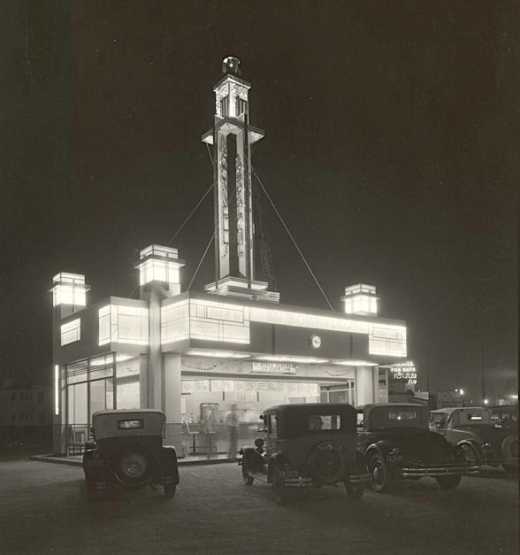 McDonnell's at Beverly and La Brea '31-'32