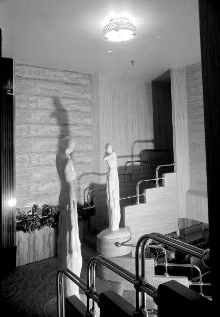 Interior views of the Earl Carroll Theater Sunset Boulevard