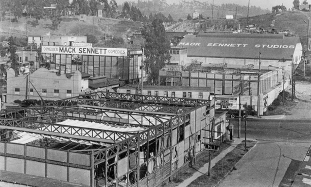 Mack Sennett Studio Silver Lake Area Circa Mid To Late