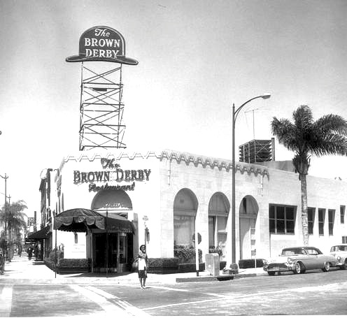 Brown Derby, Beverly Hills, 1950s