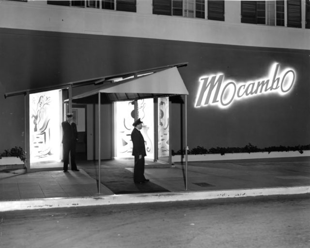 The Mocambo at 8588 Sunset Blvd