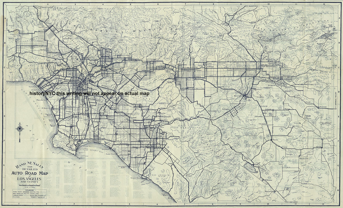 Map Of Los Angeles - Los angeles on the map