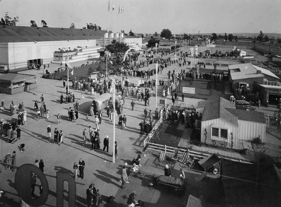 Home Show At The Pan Pacific Auditorium 1935