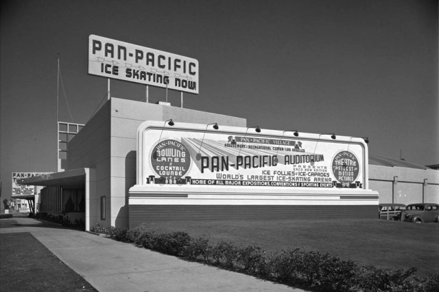 Pan Pacific ice skating rink