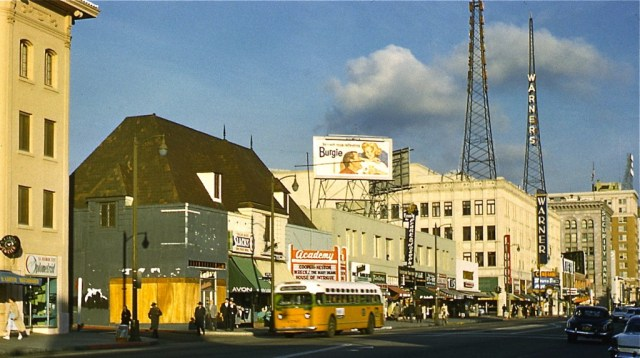Academy Theater 6523 Hollywood Blvd 1959