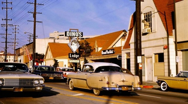 Dino's Lodge on Sunset Blvd - color