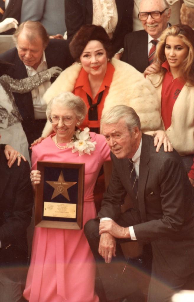 Gene Nelson, Kathryn Grayson, James Stewart, Eleanor Debus - 15FEB1984