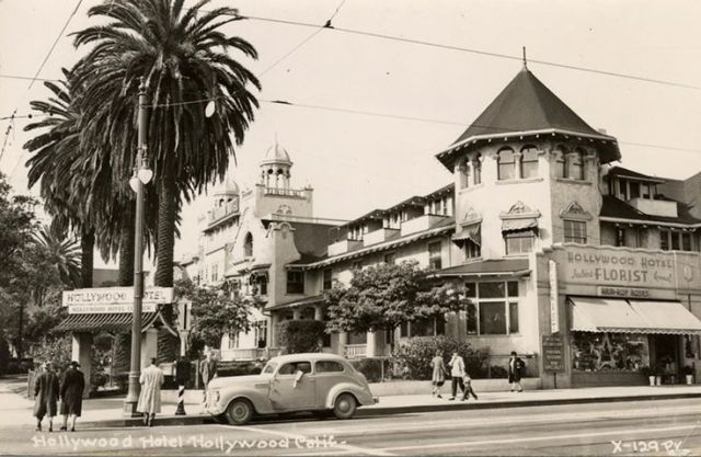 Hollywood Hotel at the Hollywood and Highland in the 1940s pin.jpg