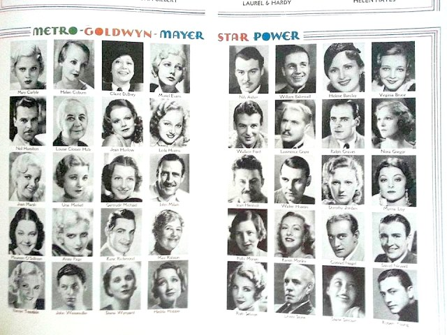Metro-Goldwyn-Mayer - Star power - 1933
