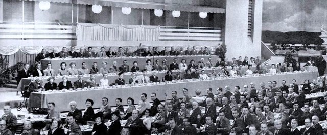 MGM's 25th anniversary luncheon, 1949