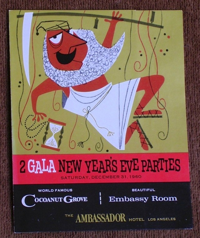New Year's Eve December 31, 1960 at the Ambassador Hotel -1