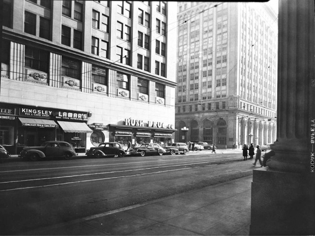 Seventh Street, downtown Los Angeles 1947