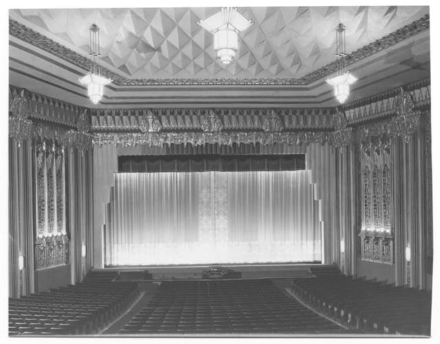 Interior of Fox Stadium on Pico Boulevard, 1931