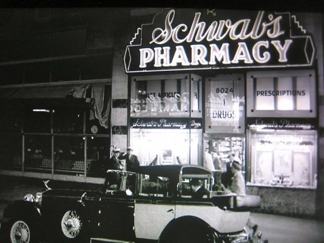 "Schwab's Pharmacy from ""Sunset Boulevard"" (1950)"