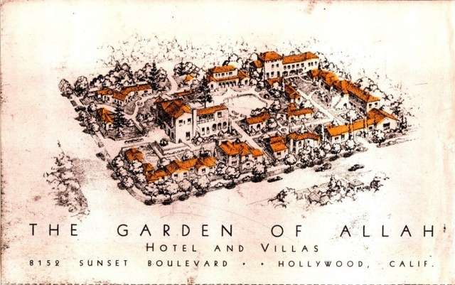 Garden of Allah Hotel and Villas 8152 Sunset Blvd, Hollywood, California