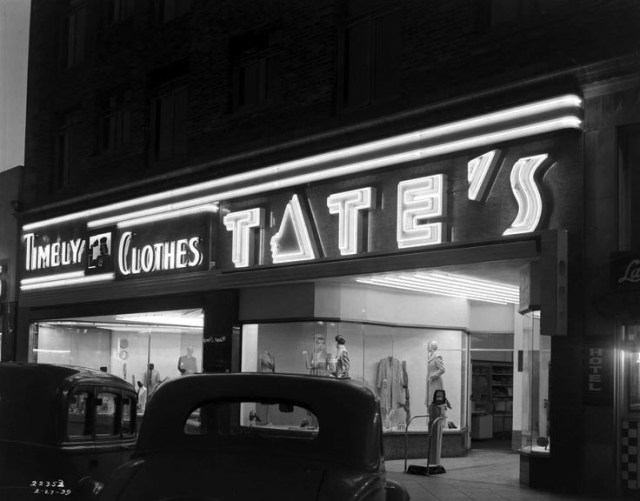Timely clothes at Tate's, February 27, 1939