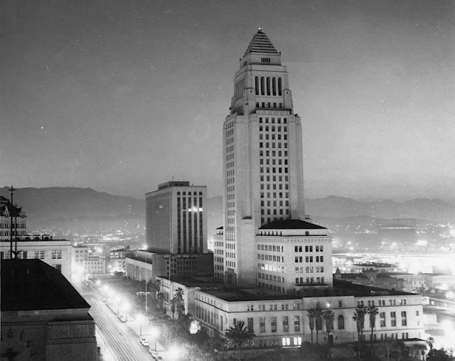 Los Angeles City Hall - 1955