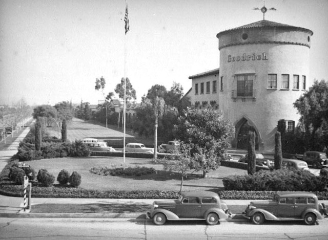 Pacific Goodrich Rubber Company at Olympic and Goodrich Boulevards, Los Angeles