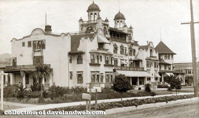 Hotel Hollywood, Hollywood Blvd at Highland Ave, 1906
