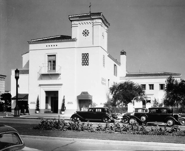 Bullocks department store, Westwood, Los Angeles, 1936