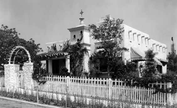 Shirley Temple's bungalow at 20th Century Fox, 1936