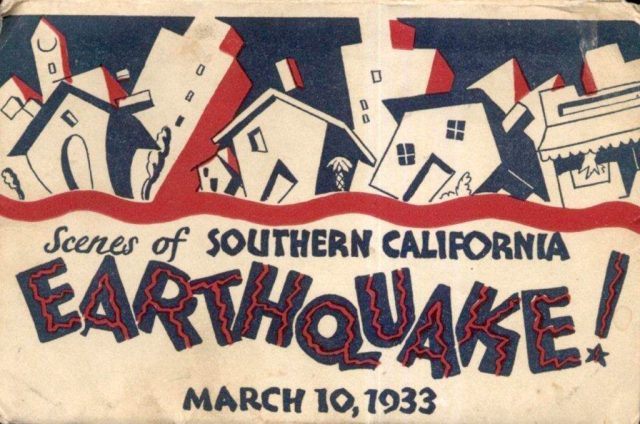 Scenes of a Southern California Earthquake - March 10, 1933