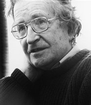 Cropped version of Noam chomsky.jpg.