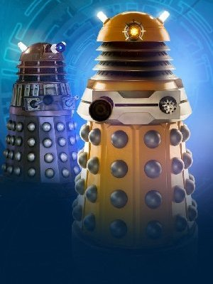 Examples of a New Paradigm Dalek (foreground) ...