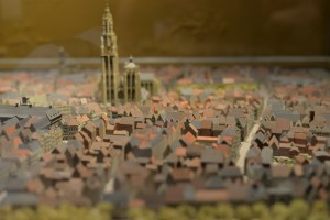 This model shows Antwerp as it was when the town hall was originally constructed.