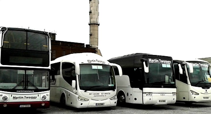 Coach and bus hire company in Cork with COVID Safety charter