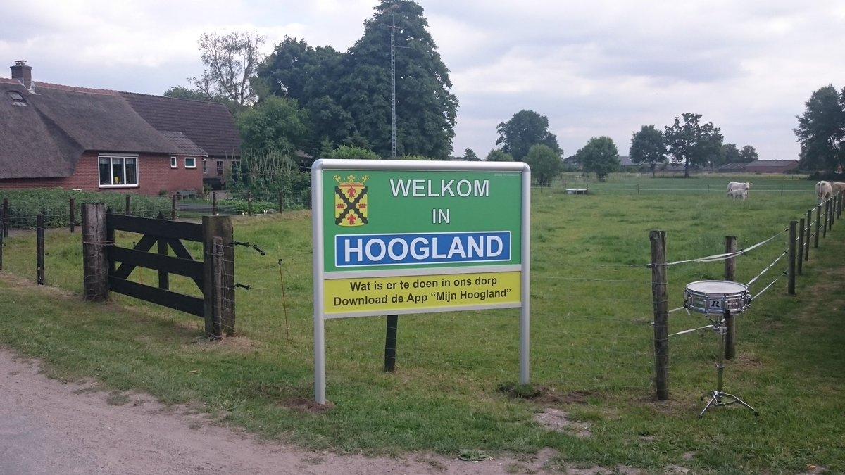 Over Hoogland - Martinus Verbindt Hoogland