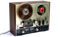 Vi mangler en spolebåndoptager til digitalisering af historiske foredrag