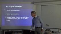 Ägande och fördelning av tillgångarna – Föredrag av Ulf Sandström