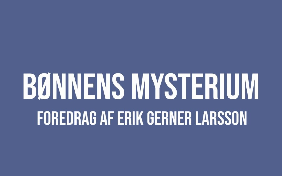 K160 Bønnens mysterium   EGL