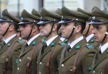 De policías mexicanos y Carabineros chilenos